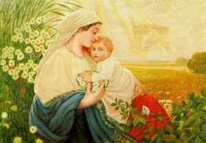 Hitlerin maalaus, Maria ja Jeesus